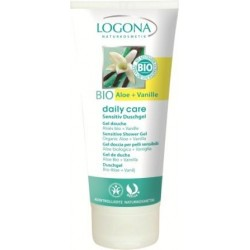 GEL DUCHA ALOE BIO Y VAINILLA DAILY CARE LOGONA. 200 ml
