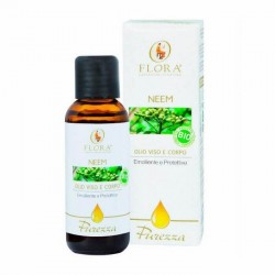 ACEITE DE NEEM 100 % NATURAL ANTISÉPTICO FLORA 50 ml