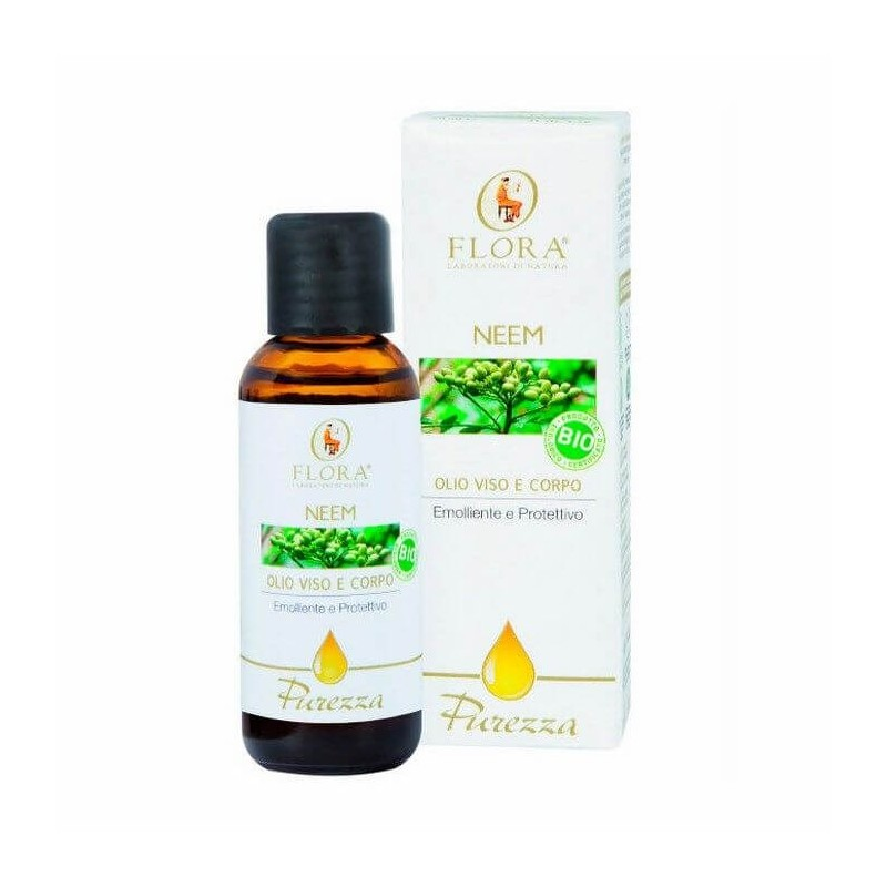 ACEITE DE NEEM 100% NATURAL ANTISÉPTICO FLORA. 50 ml