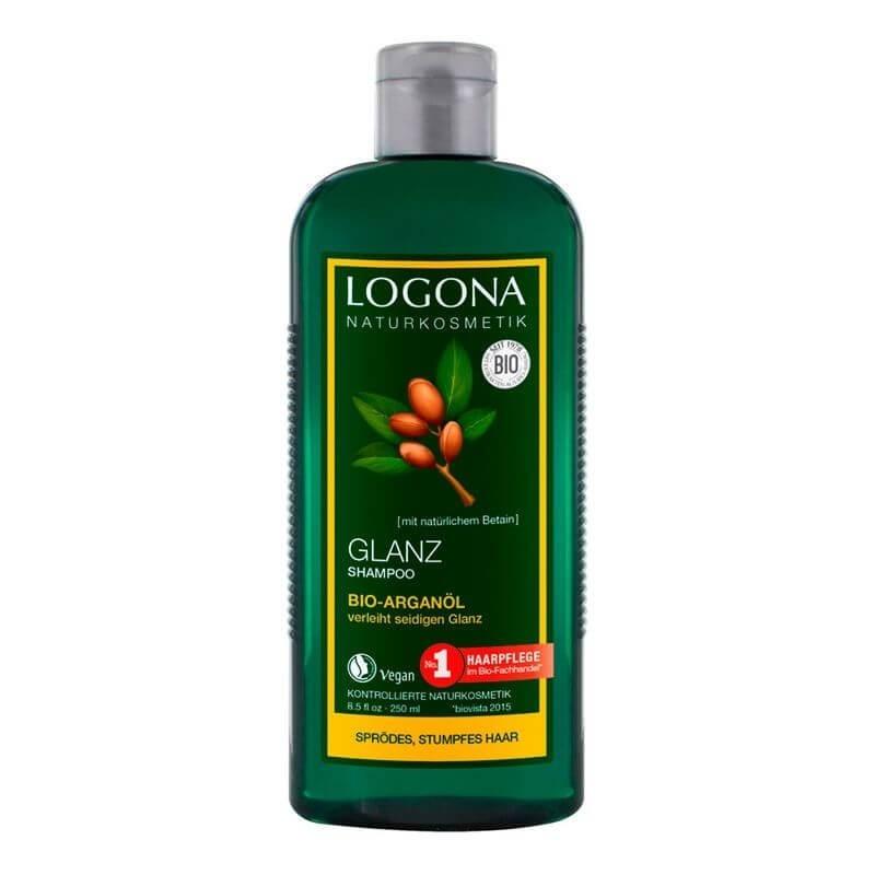 CHAMPÚ BRILLO DE ARGÁN LOGONA 250 ml