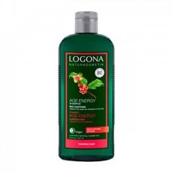 CHAMPÚ AGE ENERGY CON CAFEÍNA LOGONA. 250 ml
