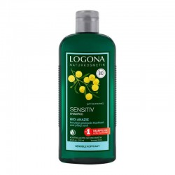 CHAMPÚ SENSITIVE CON ACACIA LOGONA. 250 ml