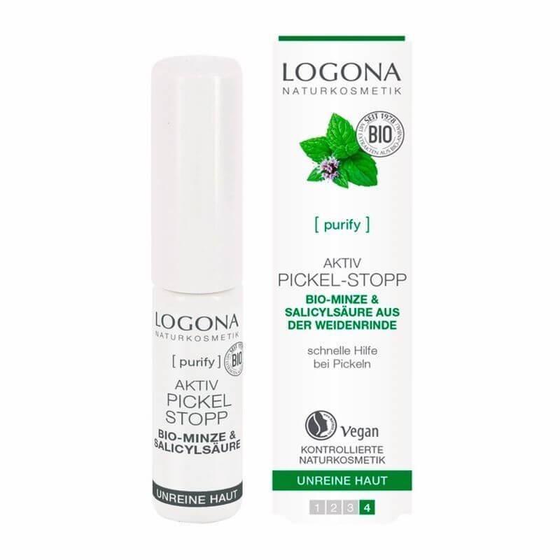 STICK STOP GRANOS CON MENTA LOGONA. 6 ml