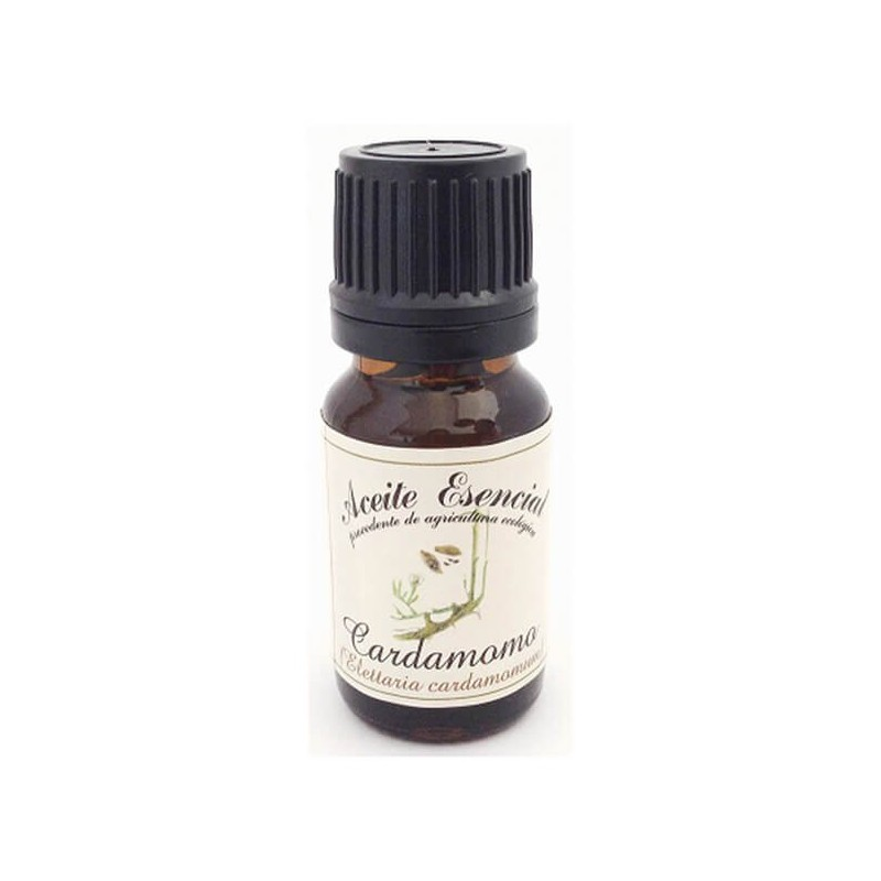 ACEITE ESENCIAL DE CARDAMOMO (ELETTARIA CARADAMOMUM) LABIATAE. 12 ml
