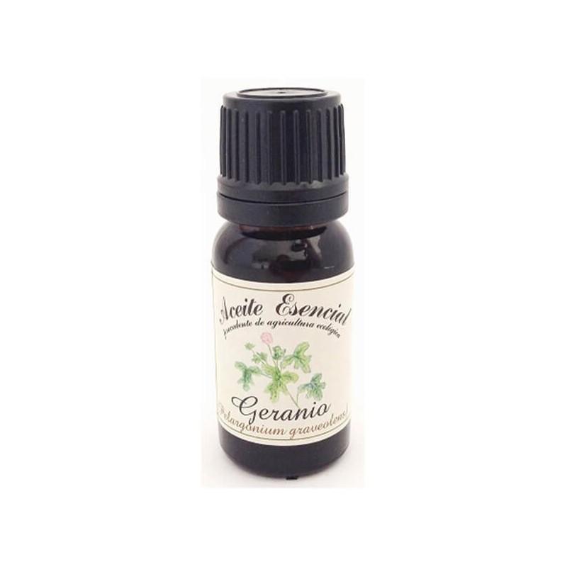 ACEITE ESENCIAL DE GERANIO (PELARGONIUM GRAVEOLENS) LABIATAE 12 ml