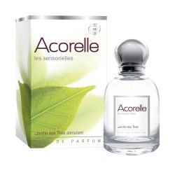 AGUA DE PERFUME JARDIN DES THES ESTIMULANTE ACORELLE. 50 ml