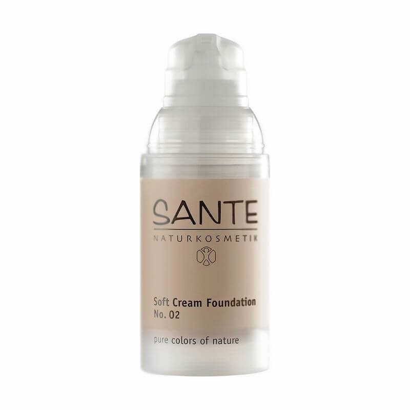 MAQUILLAJE SOFT CREAM FOUNDATION SANTE. 30 ml