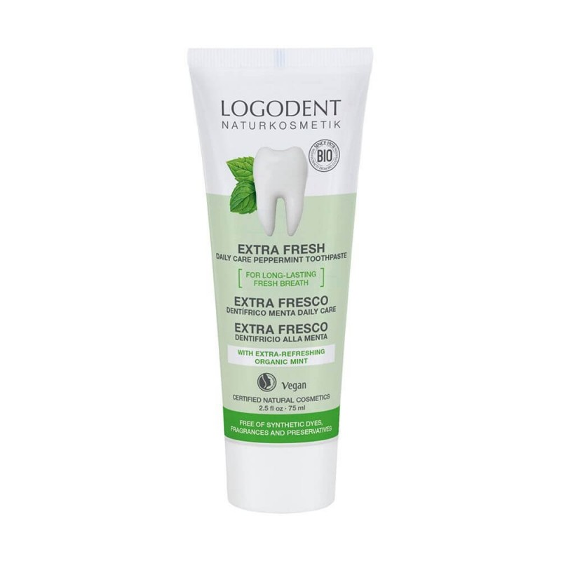 DENTÍFRICO DE MENTA DAILY CARE LOGONA. 75 ml