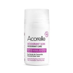 DESODORANTE EN ROLL-ON PARA PIELES SENSIBLES ACORELLE. 50 ml