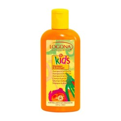 GEL DE DUCHA Y CHAMPÚ KIDS LOGONA. 200 ml