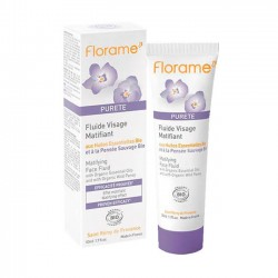 FLUIDO FACIAL MATIFICANTE FLORAME. 50 ml