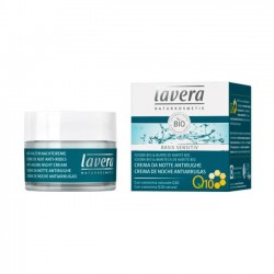 CREMA DE NOCHE ANTIEDAD CON Q10 BASIS SENSITIV LAVERA 50 ml