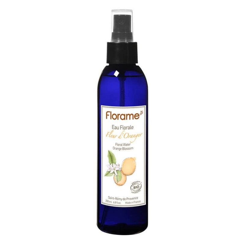 AGUA FLORAL DE AZAHAR (ORANGE BLOSSOM) FLORAME 200 ml