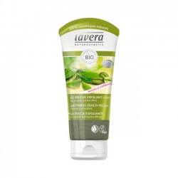 GEL DE DUCHA EXFOLIANTE LAVERA. 200 ml