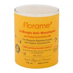 VELA REPELENTE DE MOSQUITOS FLORAME. 170 g