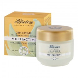 CREMA 24 H MULTIACTIVE HELIOTROP. 50 ml