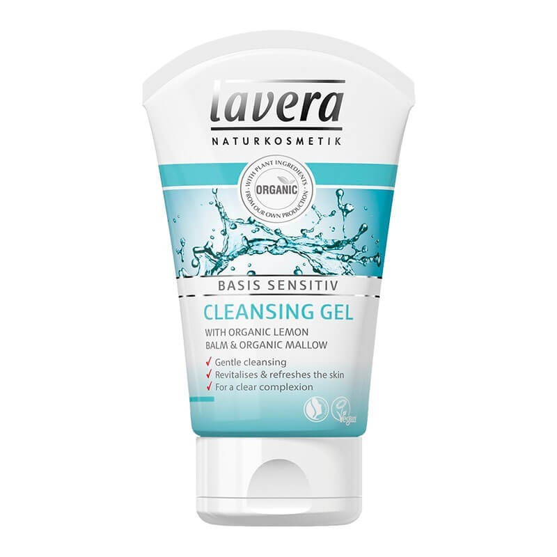 GEL LIMPIADOR BASIS SENSITIV MELISA Y MALVA LAVERA. 125 ml