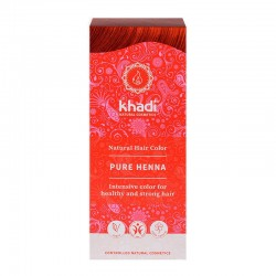 HENNA NATURAL 100 % PURA KHADI 100 g