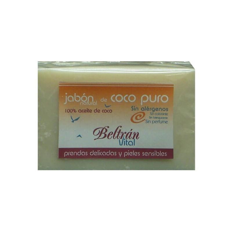 JABÓN EN PASTILLA DE COCO PURO SIN PERFUME VITAL 240 g