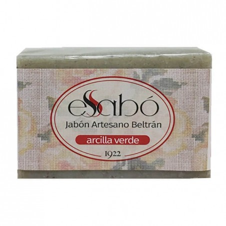 JABÓN ARTESANO DE ARCILLA VERDE ESSABÓ 100 g