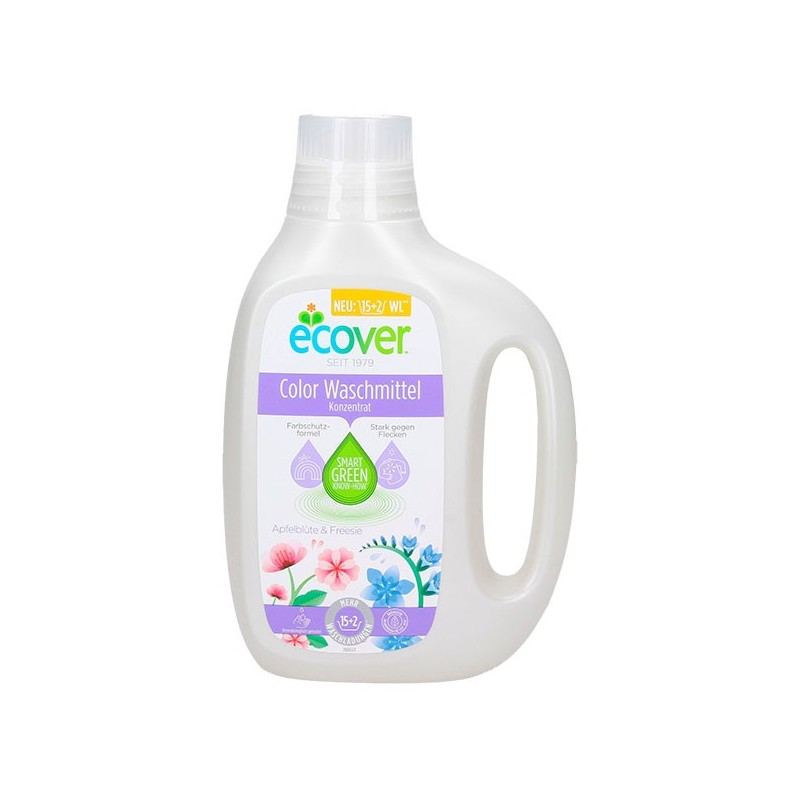 DETERGENTE LÍQUIDO ROPA COLOR ECOVER  850 ml