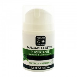 MASCARILLA DETOX PURIFICANTE NATURABIO 50 ml