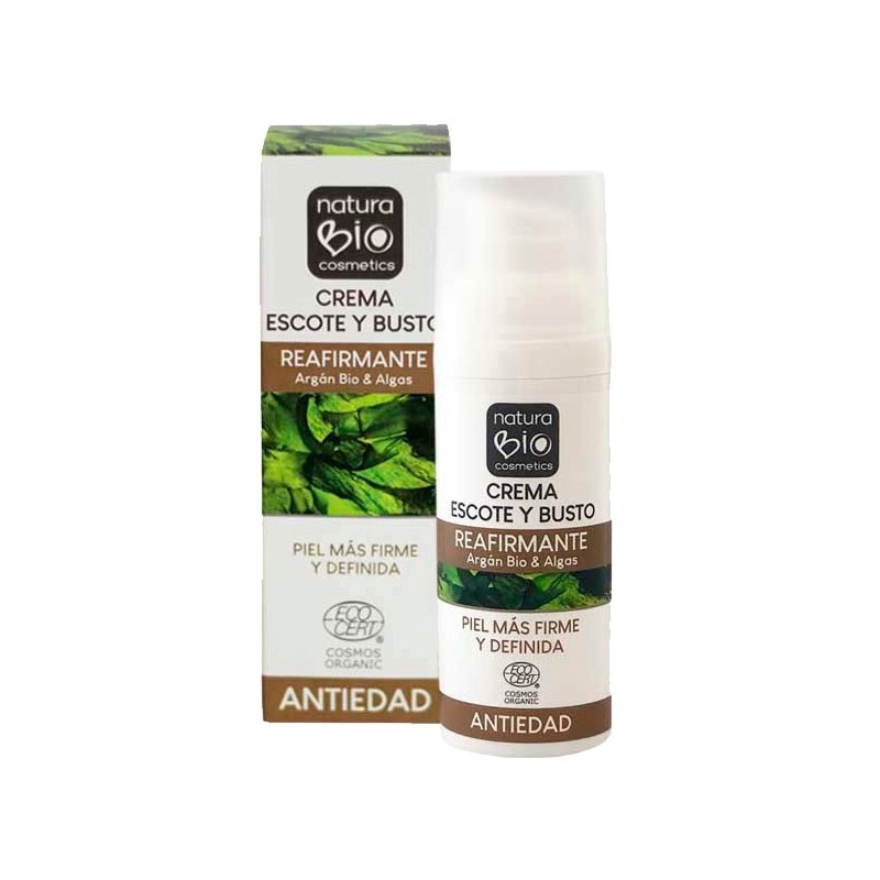 CREMA ESCOTE Y BUSTO REAFIRMANTE NATURABIO 50 ml