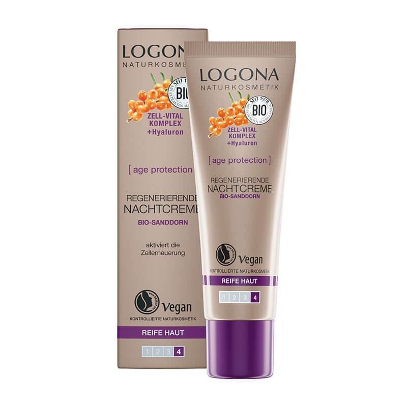 CREMA DE NOCHE AGE PROTECTION LOGONA 30 ml
