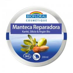 MANTECA DE KARITÉ, SILICIO Y ARGÁN BIOFLORAL 200 ml