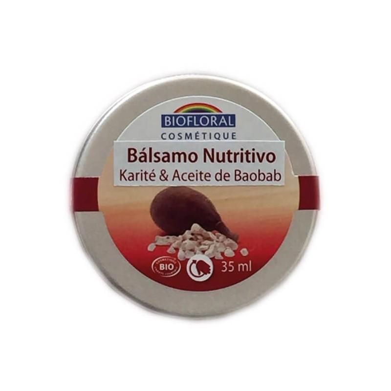 BÁLSAMO DE KARITÉ Y BAOBAB BIOFLORAL 35 ml