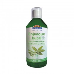 ENJUAGUE BUCAL CON PLATA COLOIDAL BIOFLORAL 500 ml