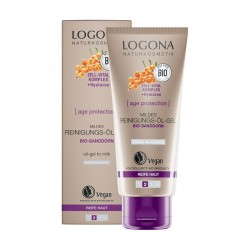 ACEITE GEL LIMPIADOR SUAVE AGE PROTECTION LOGONA 100 ml