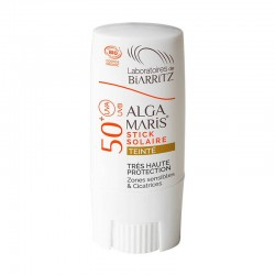 STICK PROTECTOR SOLAR CON COLOR SPF 50+ ALGA MARIS 9 ml