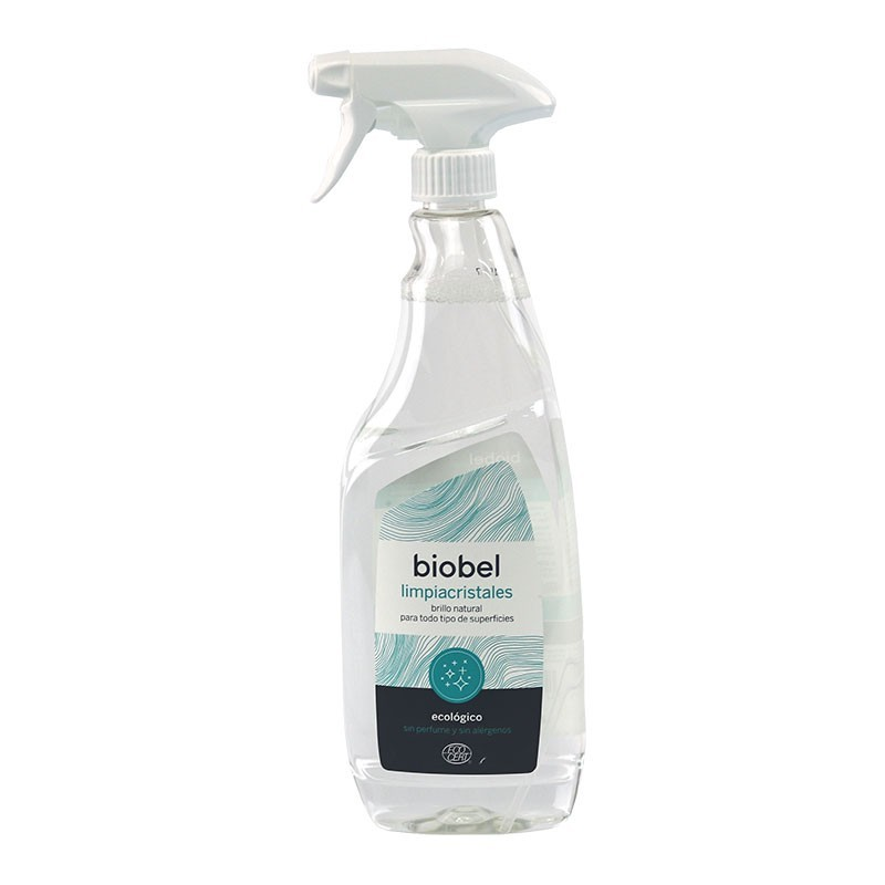 LIMPIACRISTALES ECOLÓGICO EN SPRAY BIOBEL 750 ml