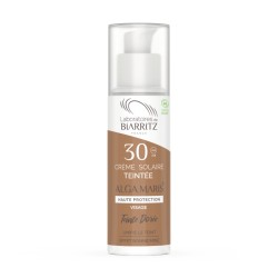 CREMA SOLAR FACIAL COLOR DORADO SPF 30 ALGA MARIS 50 ml