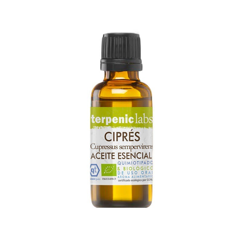 ACEITE ESENCIAL DE CIPRÉS (CUPRESSUS SEMPERVIRENS) TERPENIC 30 ml