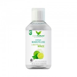 ENJUAGUE BUCAL CON MENTA Y LIMA COSNATURE 300 ml