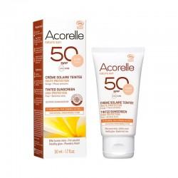 CREMA-SOLAR-FACIAL-COLOR-LIGHT-SPF-50-ACORELLE-50-ml